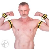 Rubber Lockable Wrist Restraints