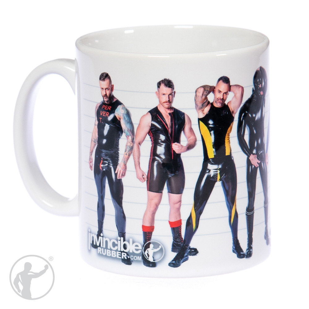 Invincible Rubber Coffee Mug