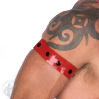 Rubber Press Stud Arm Bands