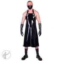 Rubber Butchers Apron & Mask Zip Up Front