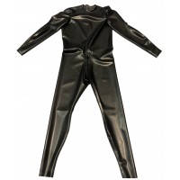 Rubber Neck Entry Catsuit Crotch Zip Backless Custom XL