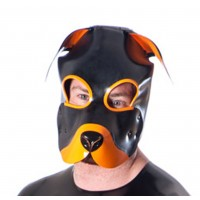 Rubber Pup Mask
