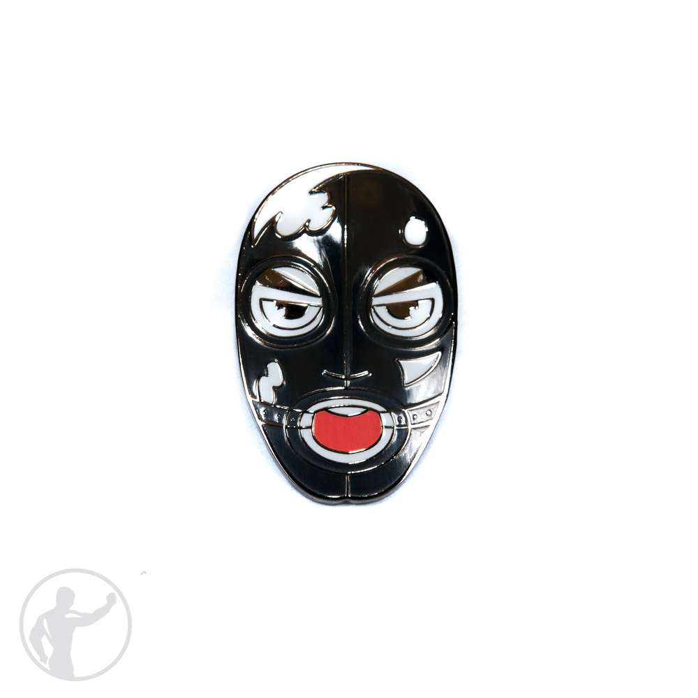 James Newland Gimp With Ball Gag Enamel Pin
