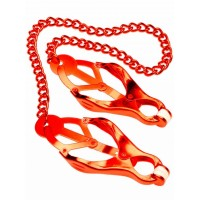 Mr Fist Nipple Clamps Red