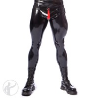 Rubber Pervert Cod Piece Leggings