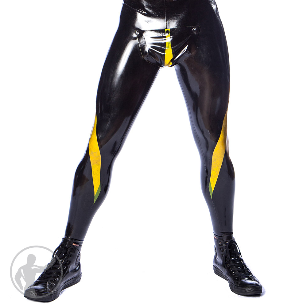 Rubber Vortex Leggings