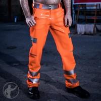 Rubber Hi Vis Cargo Pants