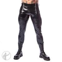 Rubber Dirty Biker Jeans
