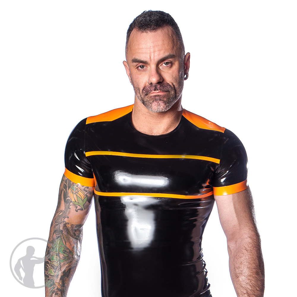 Rubber Two Bar T-Shirt