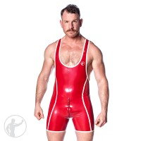 Rubber Team Trial Wrestling Singlet