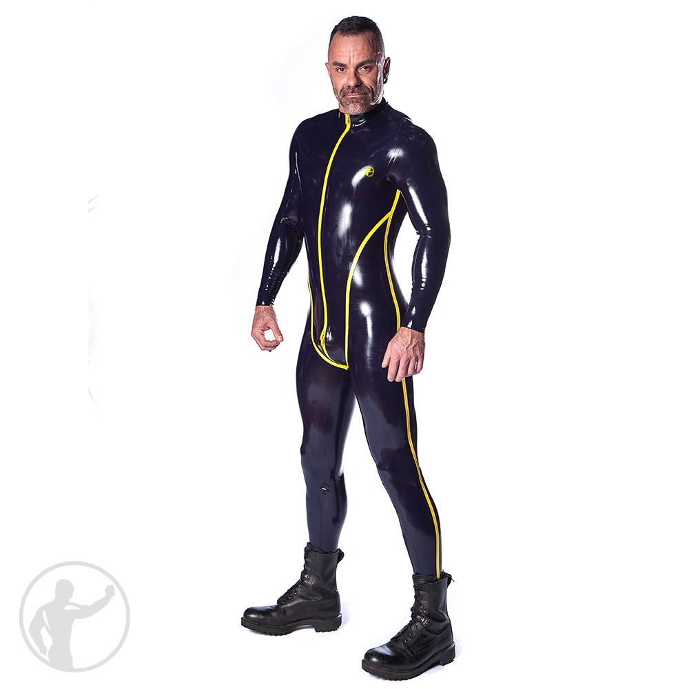 Rubber Interceptor Catsuit