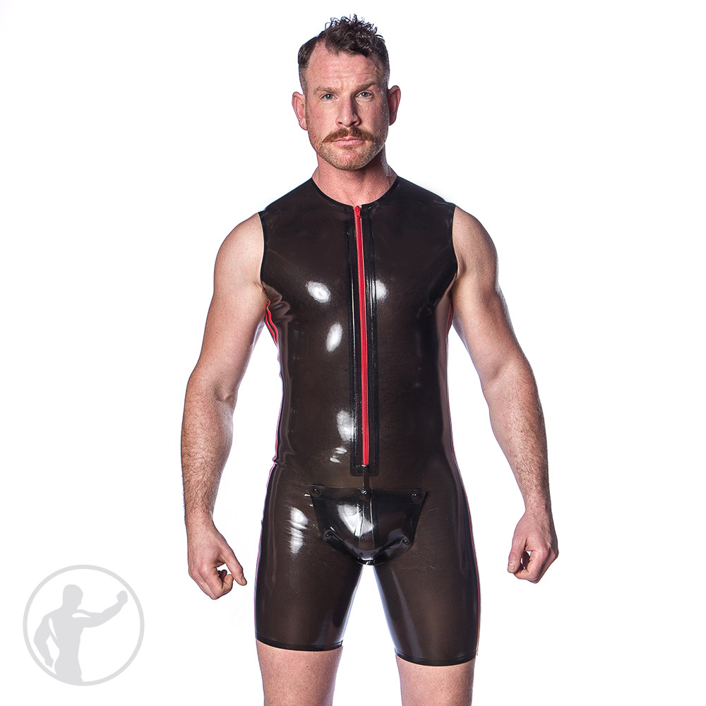 Lotus rubber fetish wear mens porn