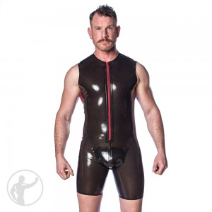 Rubber Tom Suit With Cod Piece