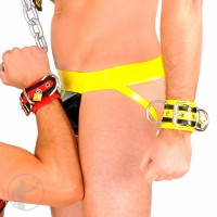 Rubber Lockable Wrist Restraints