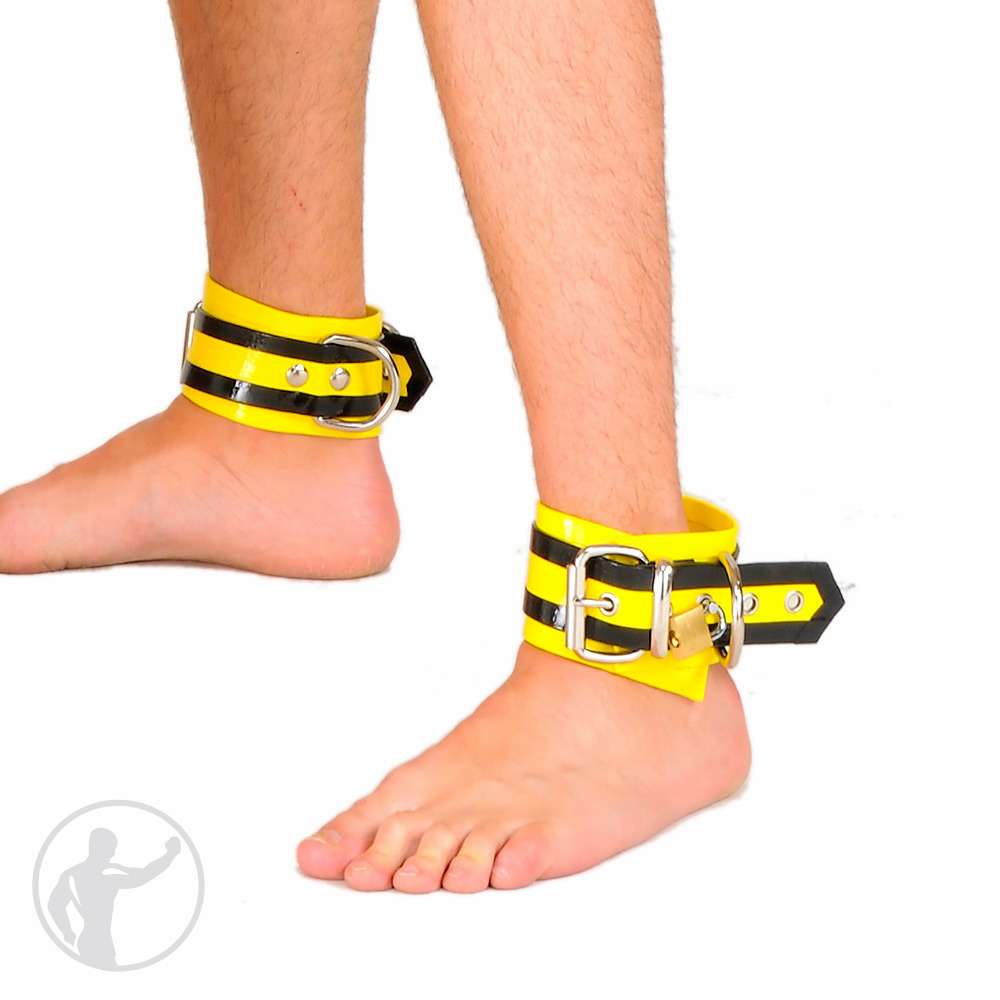 Rubber Lockable Ankle Restraints