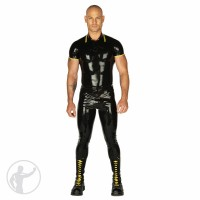 Rubber Skinhead Top & Skinhead Jeans Set