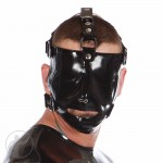 Rubber Gladiator Mask