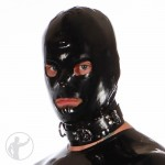Rubber Hood Open Eyes & Open Mouth