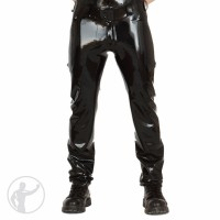 Rubber Cargo Pants