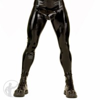Rubber Leggings Cod Piece