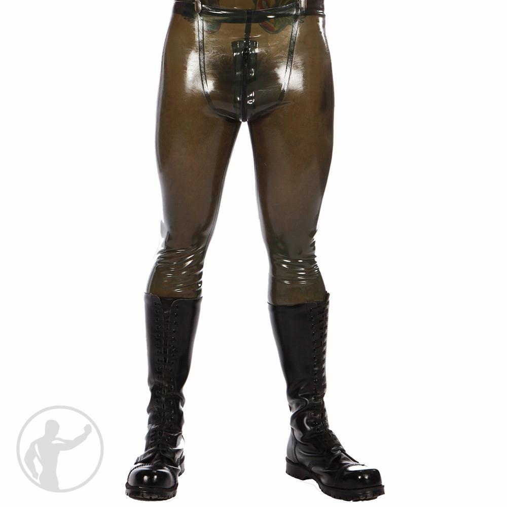 Rubber PIG Pants Thru Zip