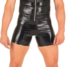 Rubber Boxer Shorts