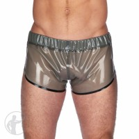 Rubber Running Shorts