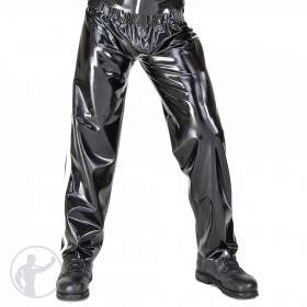 Rubber Jogging Pants