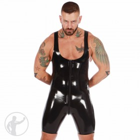 Rubber Tri Suit Thru Zip