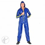 Rubber Hooded Tracksuit