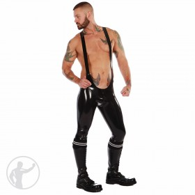 Rubber Long Leg Grappler Singlet