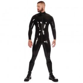 Rubber Catsuit Front Zip