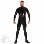 Rubber Zip Shoulder Catsuit Size: Extra Small