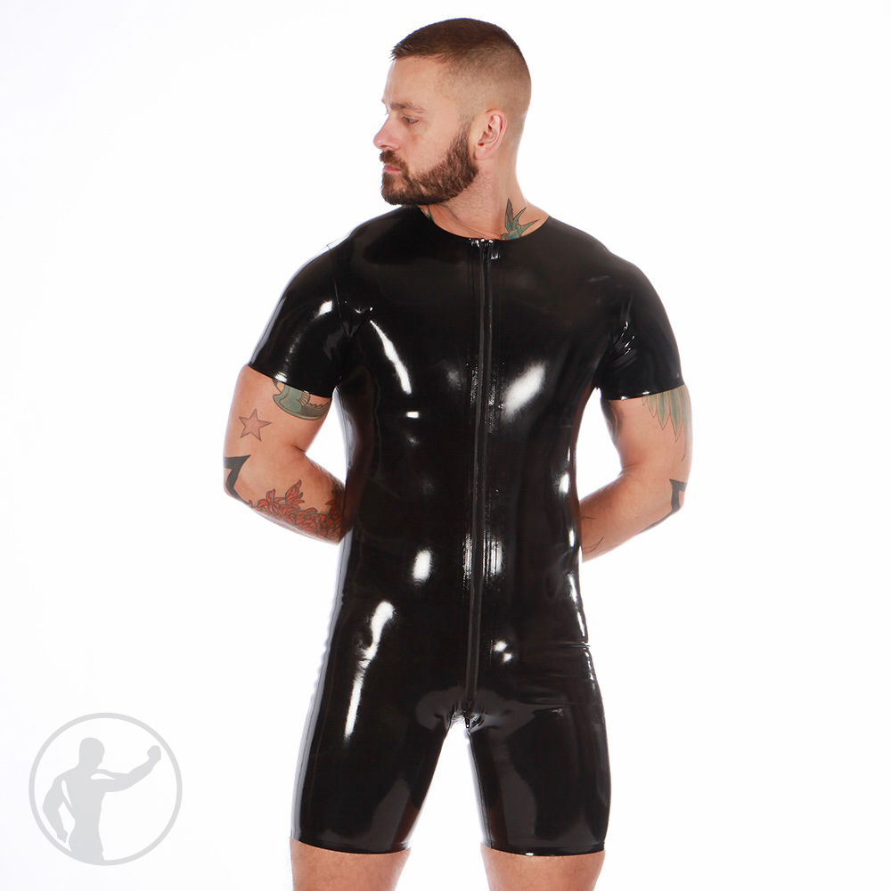 Rubber Surfsuit Thru Zip