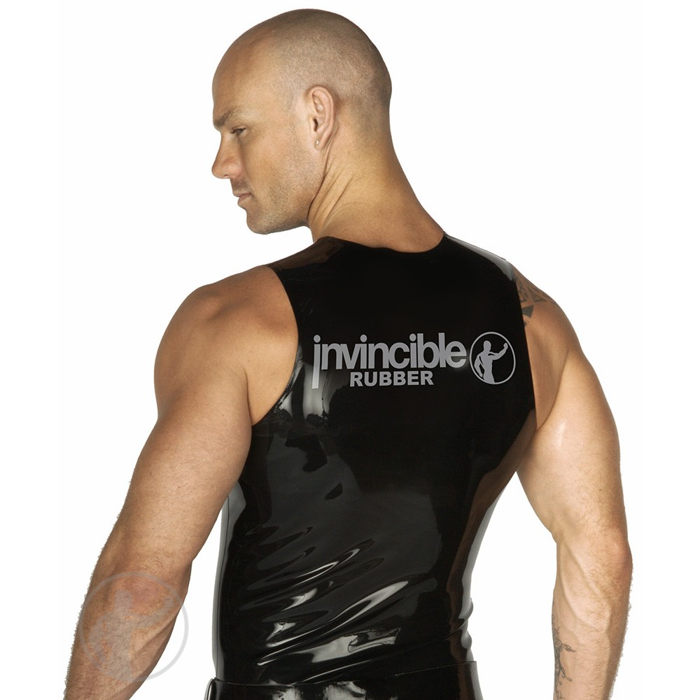 Rubber Invincible Muscle Sleeveless T-Shirt