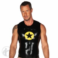 Rubber Star Logo Sleeveless T-Shirt