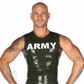 Rubber Army Logo Shirt