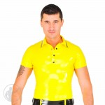 Rubber Polo Shirt