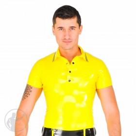 Rubber Polo Shirt