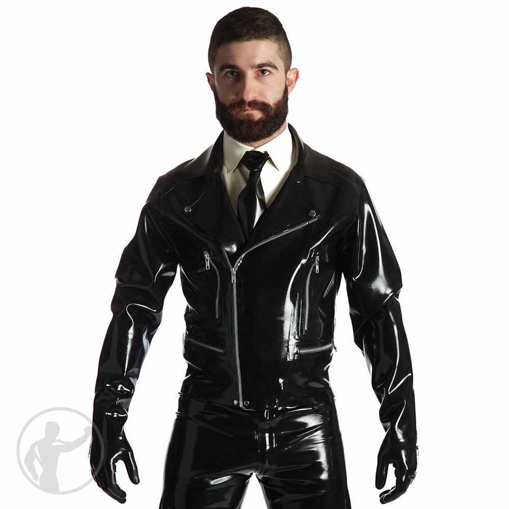 Rubber Motorbike Jacket