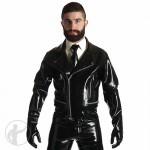 Rubber Motorbike Jacket