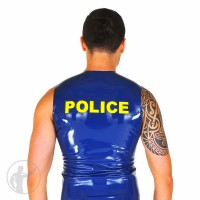 Rubber Police Sleeveless T-Shirt