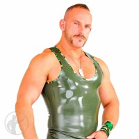 Rubber Combat Tank Top