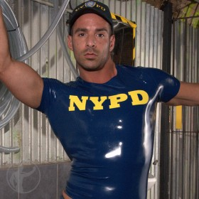 Rubber NYPD T-Shirt
