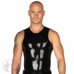 Rubber Muscle Cut T-Shirt Sleeveless