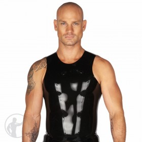 Rubber Muscle Cut T-Shirt Sleeveless