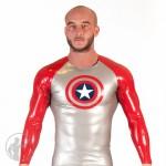 Rubber Captain A Long Sleeve Raglan T-shirt