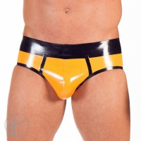 Rubber Contrast Briefs