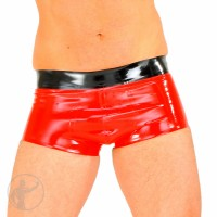 Rubber Hipster Boxers