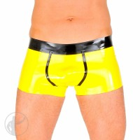 Rubber Contrast Hipster Boxer Briefs